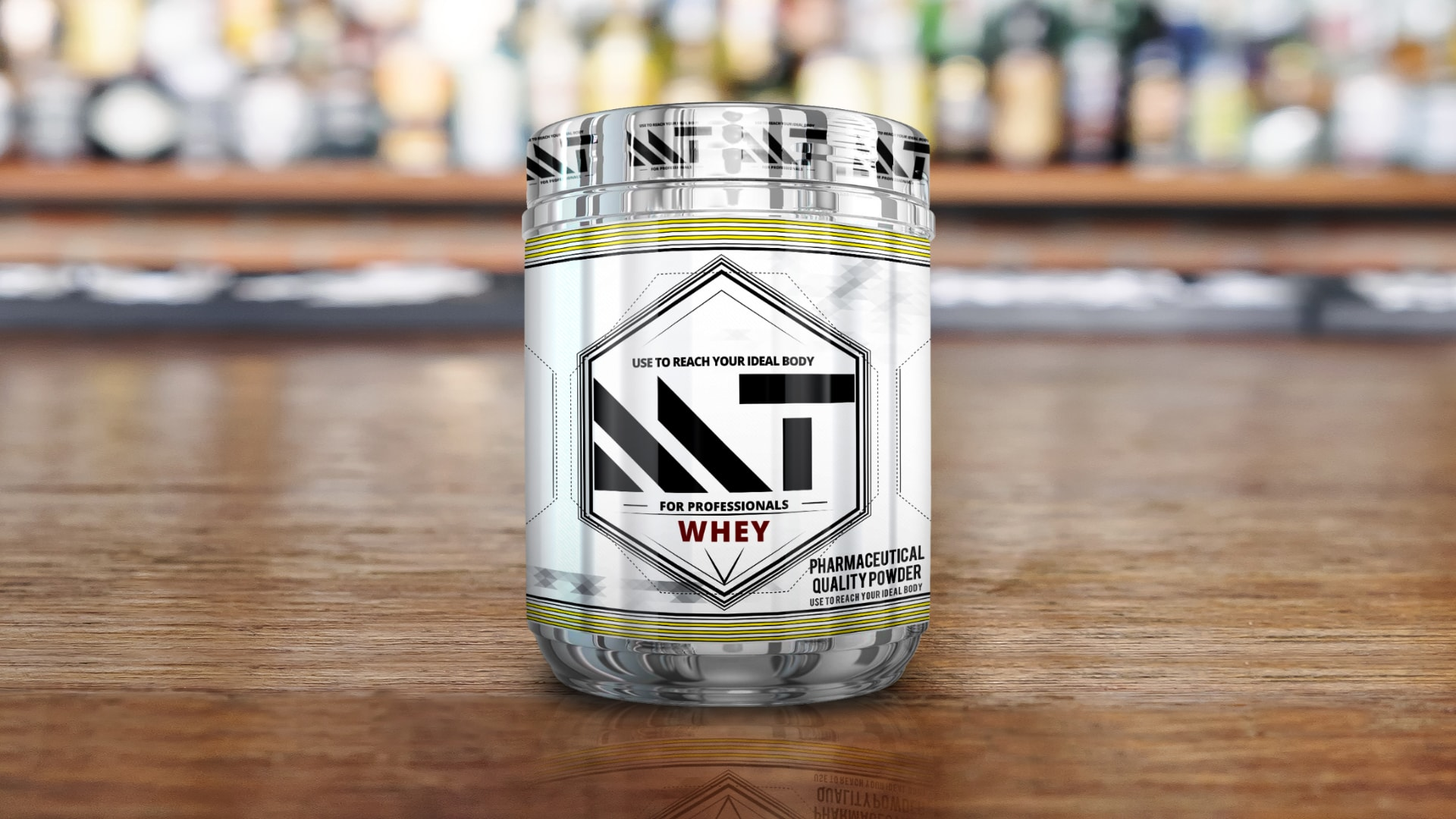 Sports supplement packaging design & printing