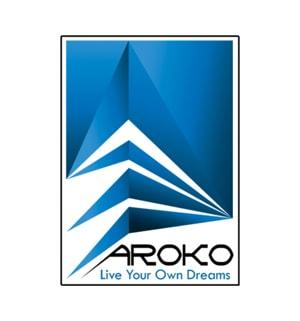 طراحی لوگو آروکو دکور توسط شرکت طراحی تبلیغاتی کی نگار