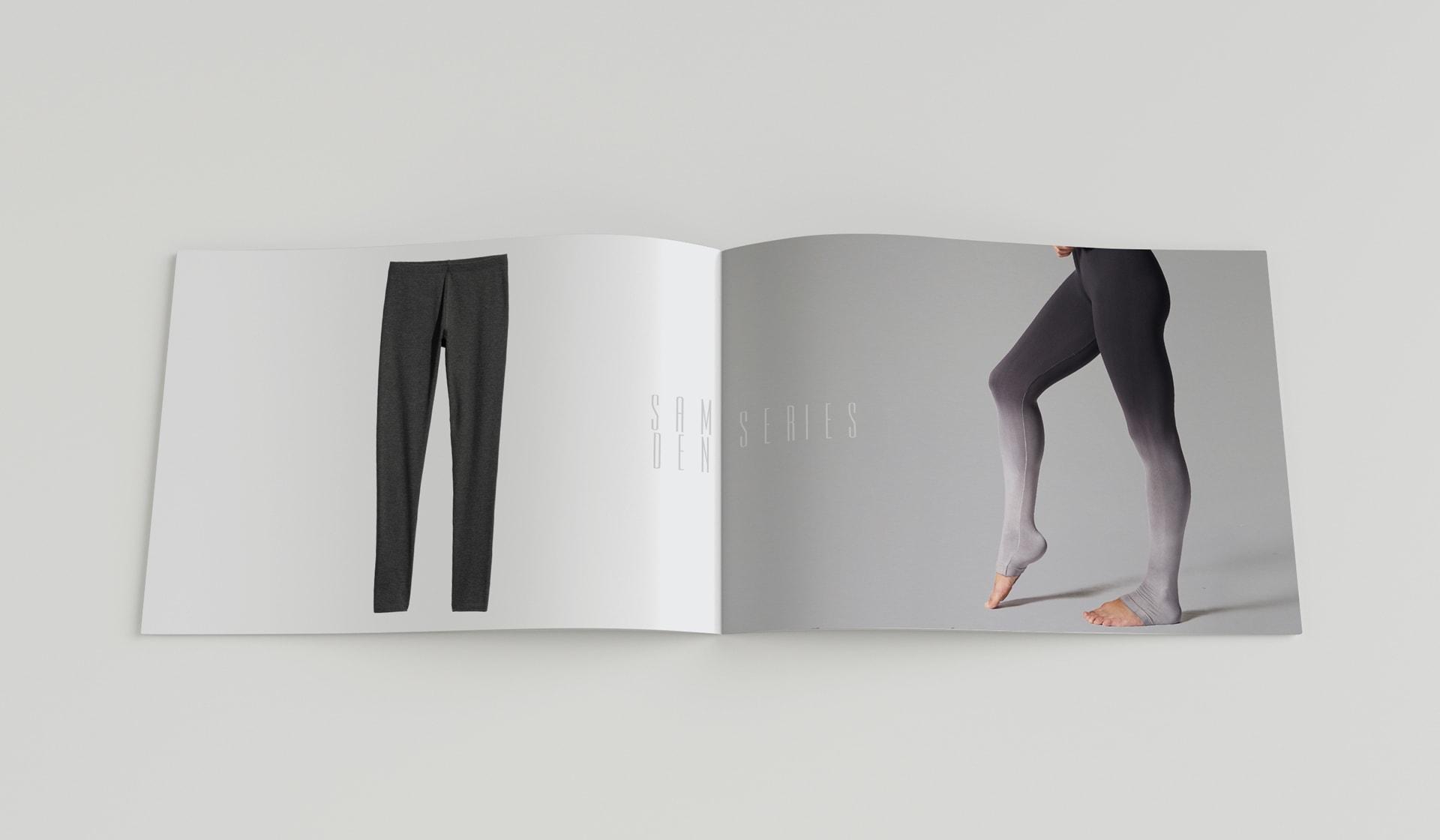 طراحی کاتالوگ برند LegX - چاپ کاتالوگ، شرکت طراحی تبلیغاتی کی نگار