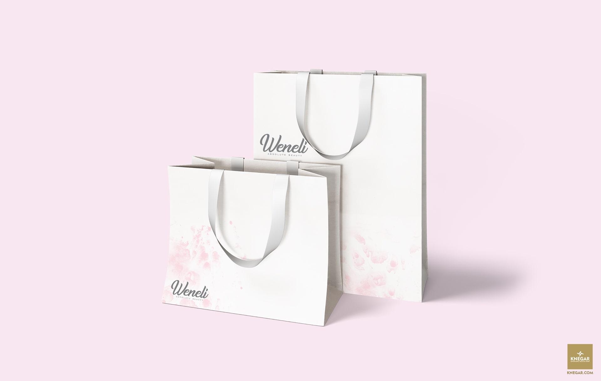 طراحی بسته بندی لوازم آرایشی ونلی -طراحی پاکت چاپ پاکت لوازم آرایشی بسته بندی کرم رژ پنکک