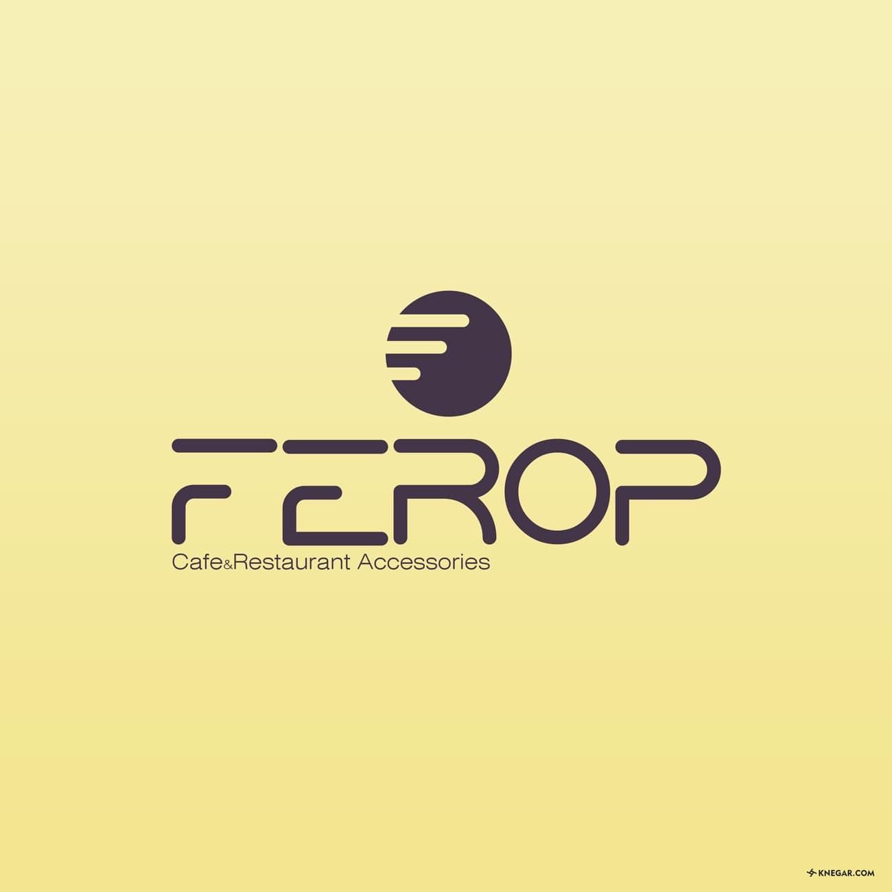 طراحی لوگو - تجهیزات کافه و رستوران فِروپ