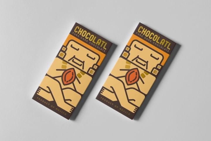 طراحی بسته بندی شکلات و کاکائو