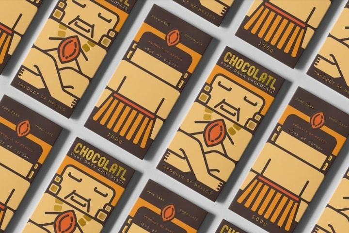 بسته بندی شکلات   بسته بندی کاکائو