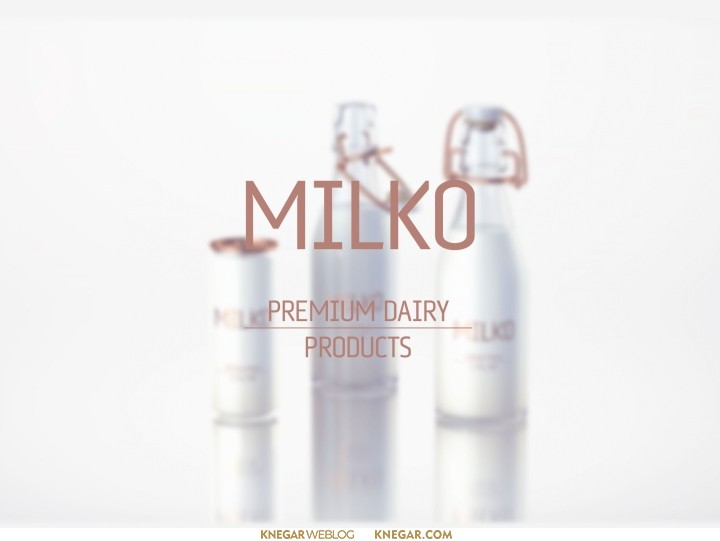 طراحی بسته بندی شیر و لبنیات