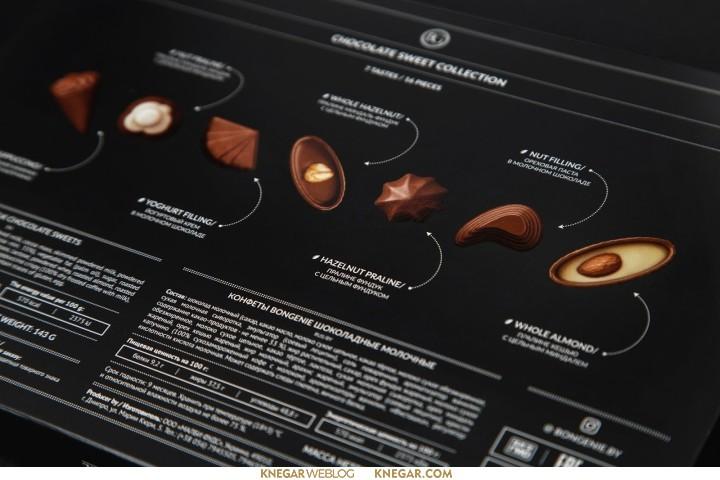 طراحی بسته بندی کاکائو و شکلات