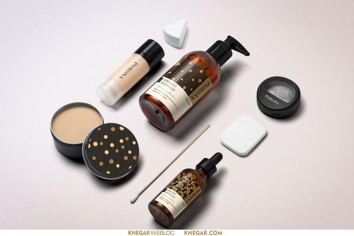 طراحی بسته بندی آرایشی و بهداشتی
