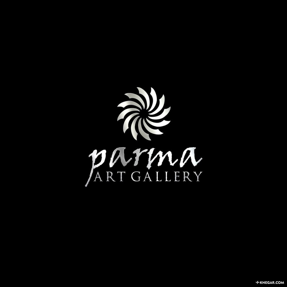 طراحی لوگو و تایپوگرافی گالری هنر
