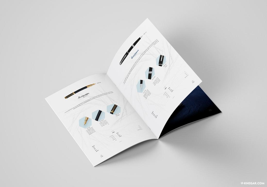 قیمت طراحی و چاپ کاتالوگ تبلیغاتی