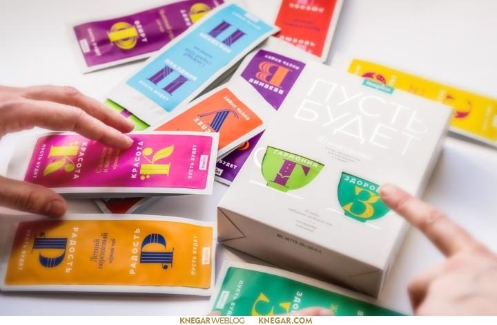 طراحی بسته بندی چای