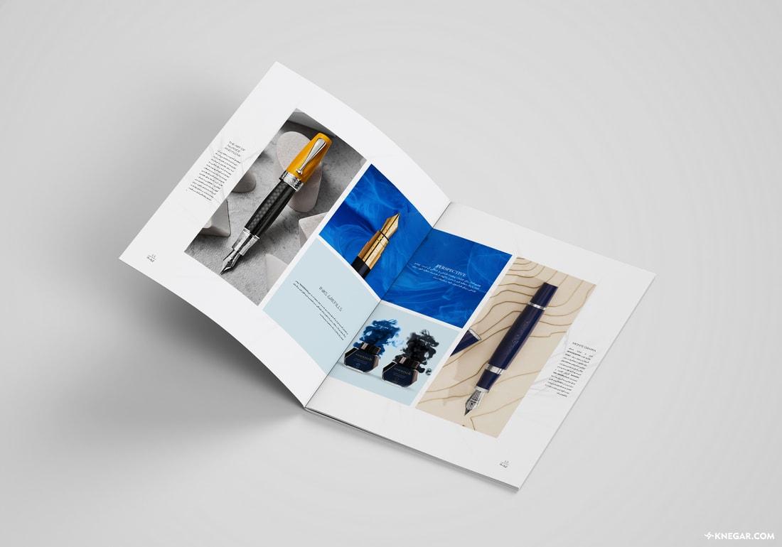 طراحی کاتالوگ تبلیغاتی برند | طراحی و چاپ کاتالوگ