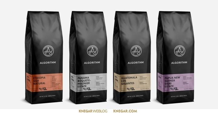 طراحی بسته بندی پکیج قهوه