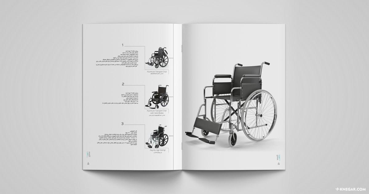 چاپ کاتالوگ لوازم پزشکی