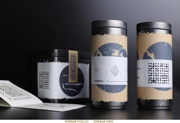 طراحی بسته بندی و طراحی لوگو چای