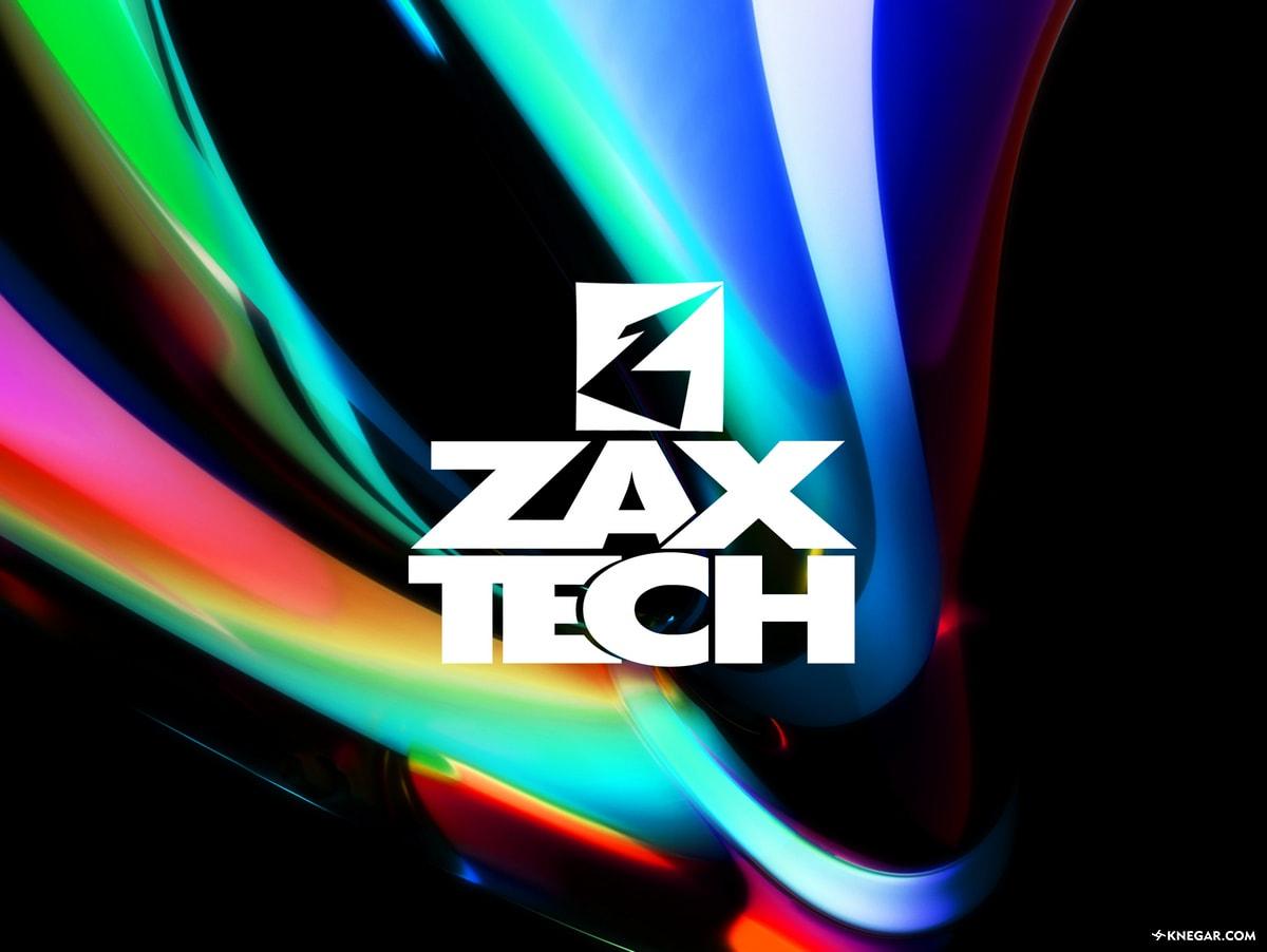 طراحی لوگو و تایپوگرافی شرکت زاکزتک