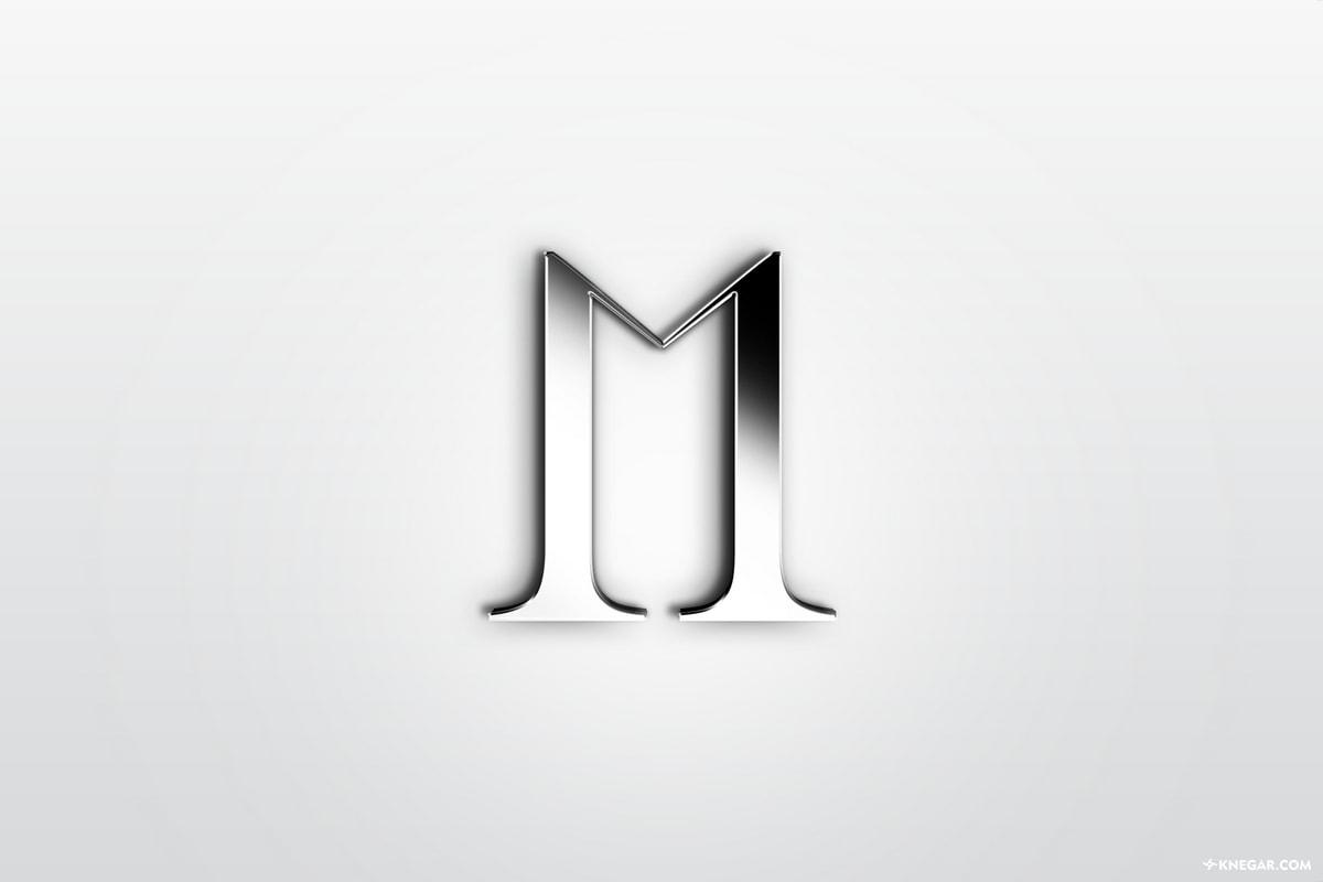 طراحی لوگو و تایپوگرافی شرکت ساختمانی مراج