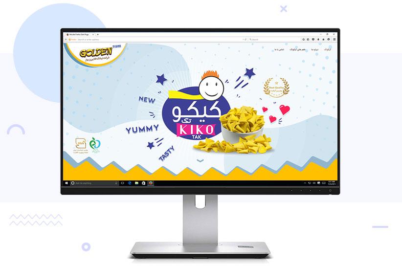 طراحی سایت کیکو تک