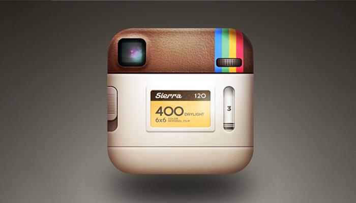 طراحی لوگو اینستاگرام